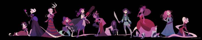 Horror Princess by nna