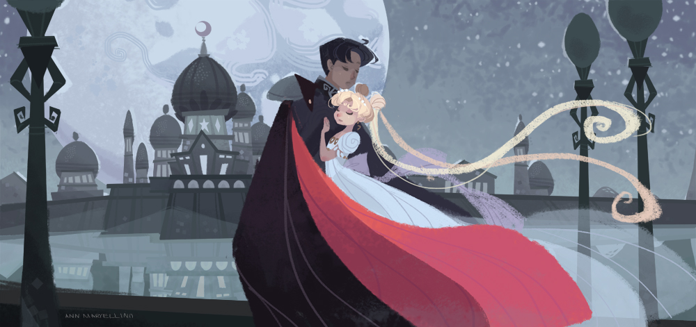 Moonlight Romance by nna