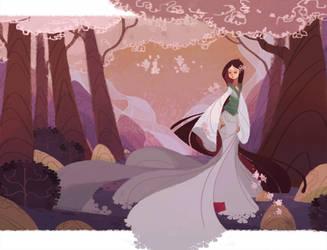 Petals Fall by nna