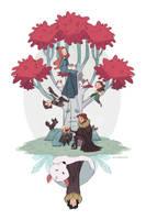 Under the Stark tree