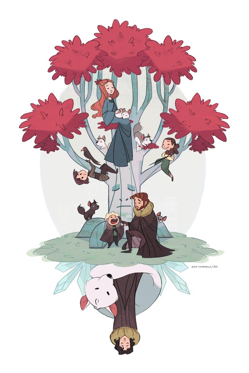 Under the Stark tree by nna