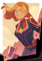Captain Marvel by nna