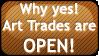 Art Trades OPEN by kuchiki-kikyou