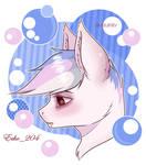 Sad bat pony
