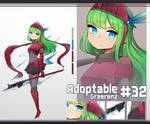 [Close] Adoptable #32 [AUCTION] by Greerenz