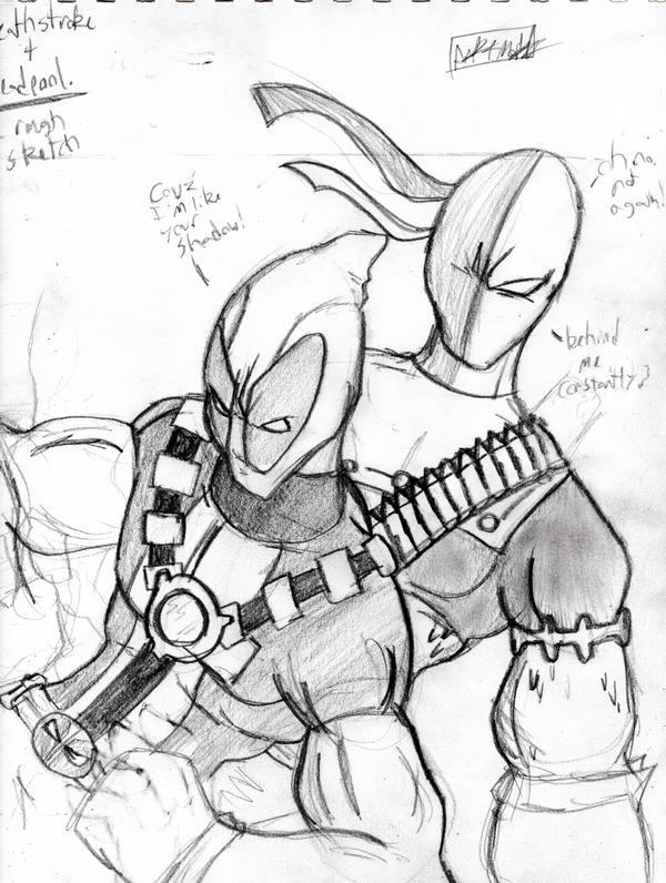 coloring pages of deathstroke costume - photo#26
