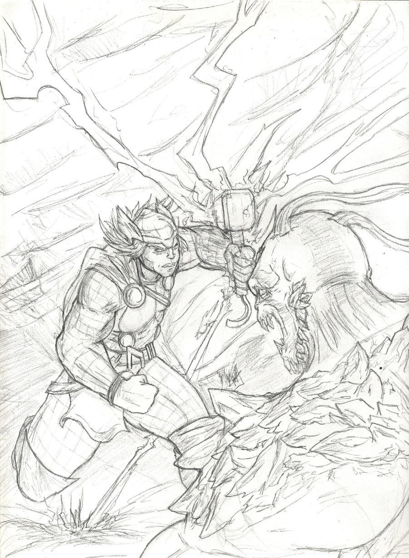 Thor X Doomsday Ragnarok By Amrock On Deviantart