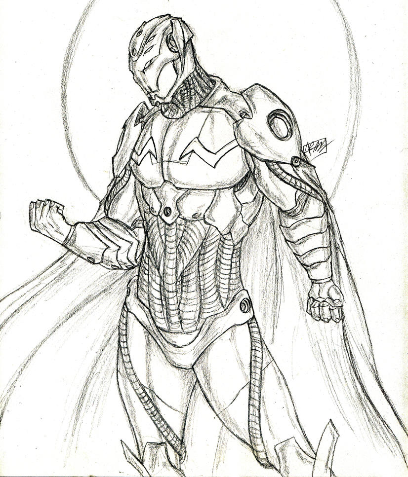 Coloring Pages Avengers Ultron : Ultron by amrock on deviantart