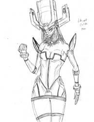 Galacta sketch by Amrock