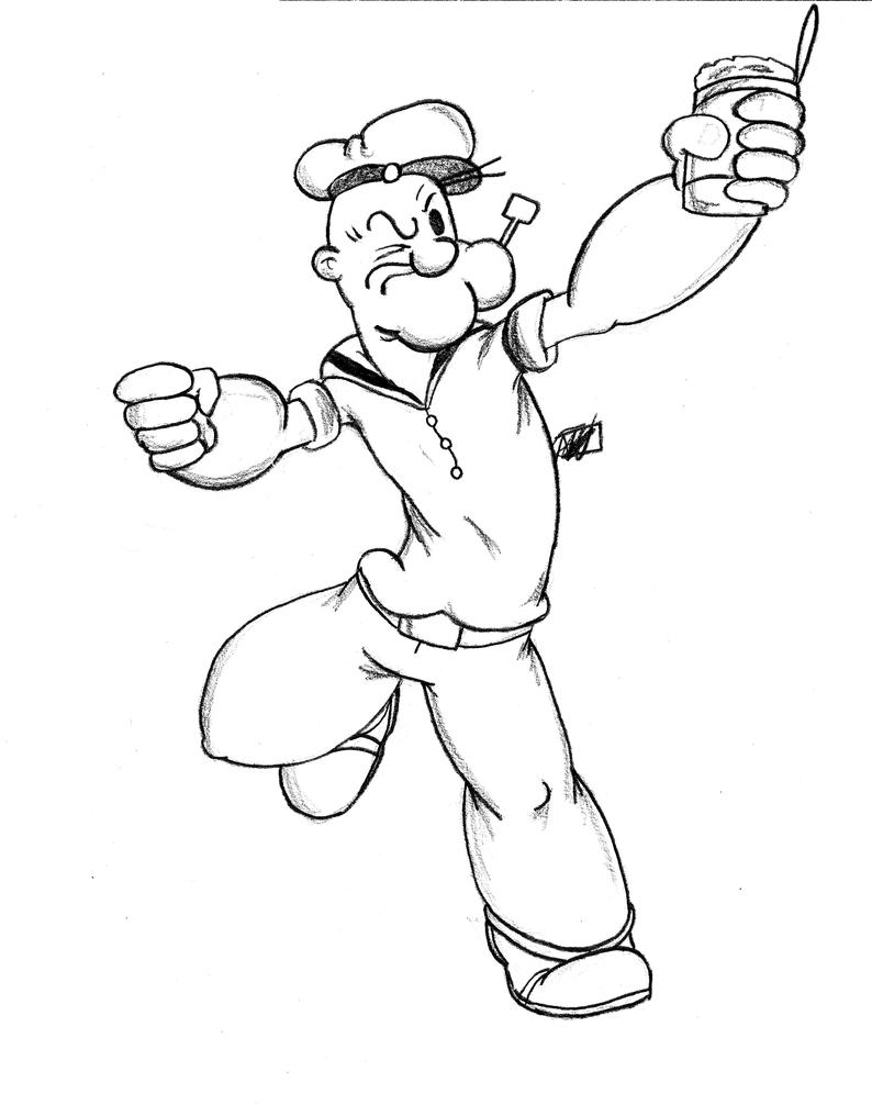 Popeye For SplendorEnt By Amrock On DeviantArt