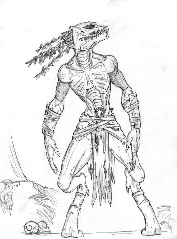 Xolotl, Aztec god of Sickness, Deformity and Misfortune ...