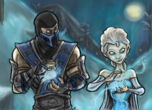 Sub-Zero and Elsa by Amrock