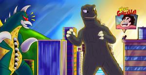 Godzilla Gigan Steven: Giant Gem Battle Offensive