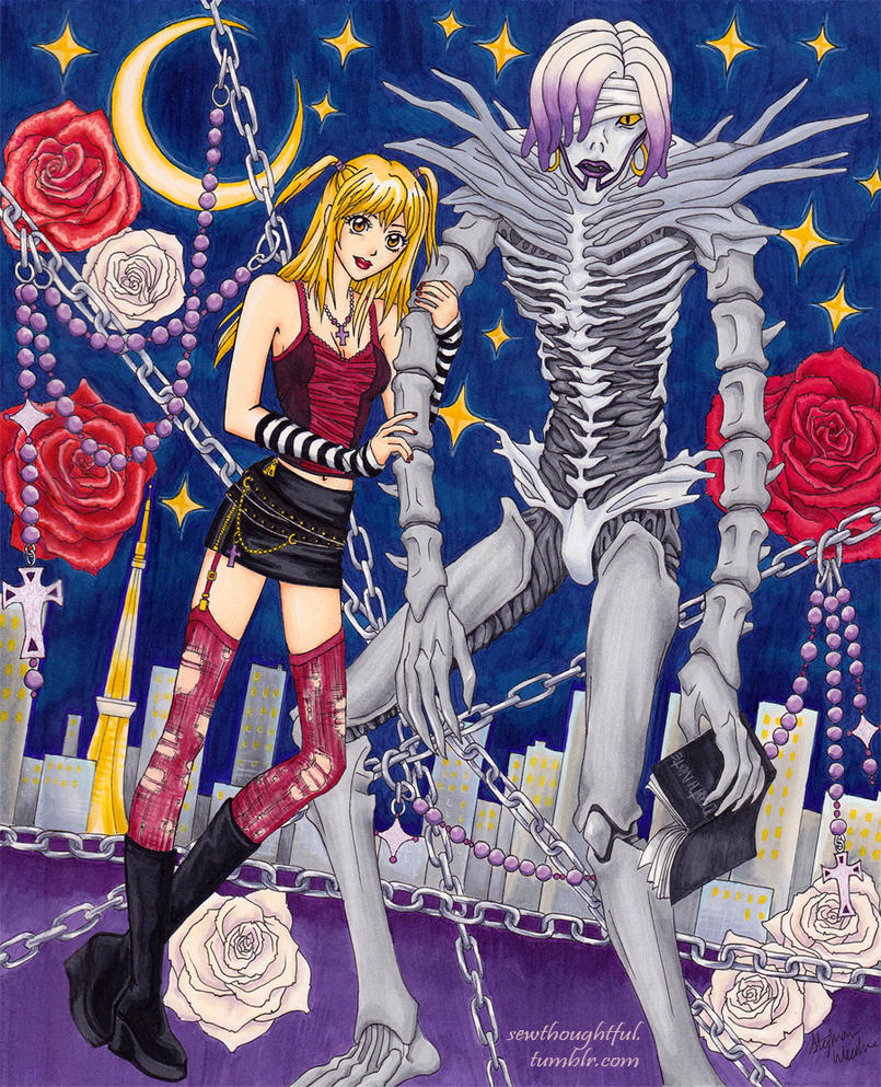 death note misa and rem - photo #20