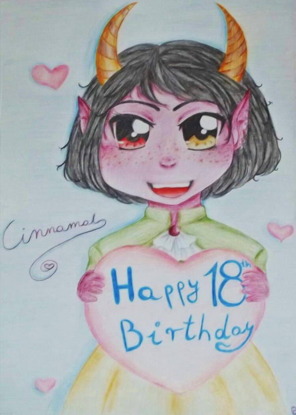 Happy 18 Birthday! by UtaKokoro
