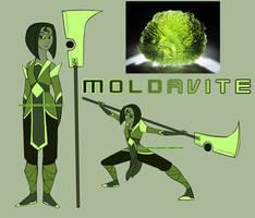 Moldavite (Gemsona) by Sage-Wren