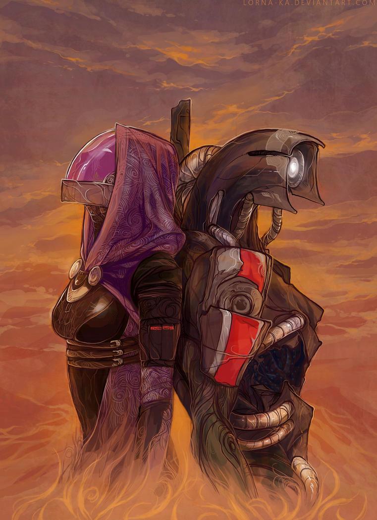 ME3 - A future for Rannoch by lorna-ka