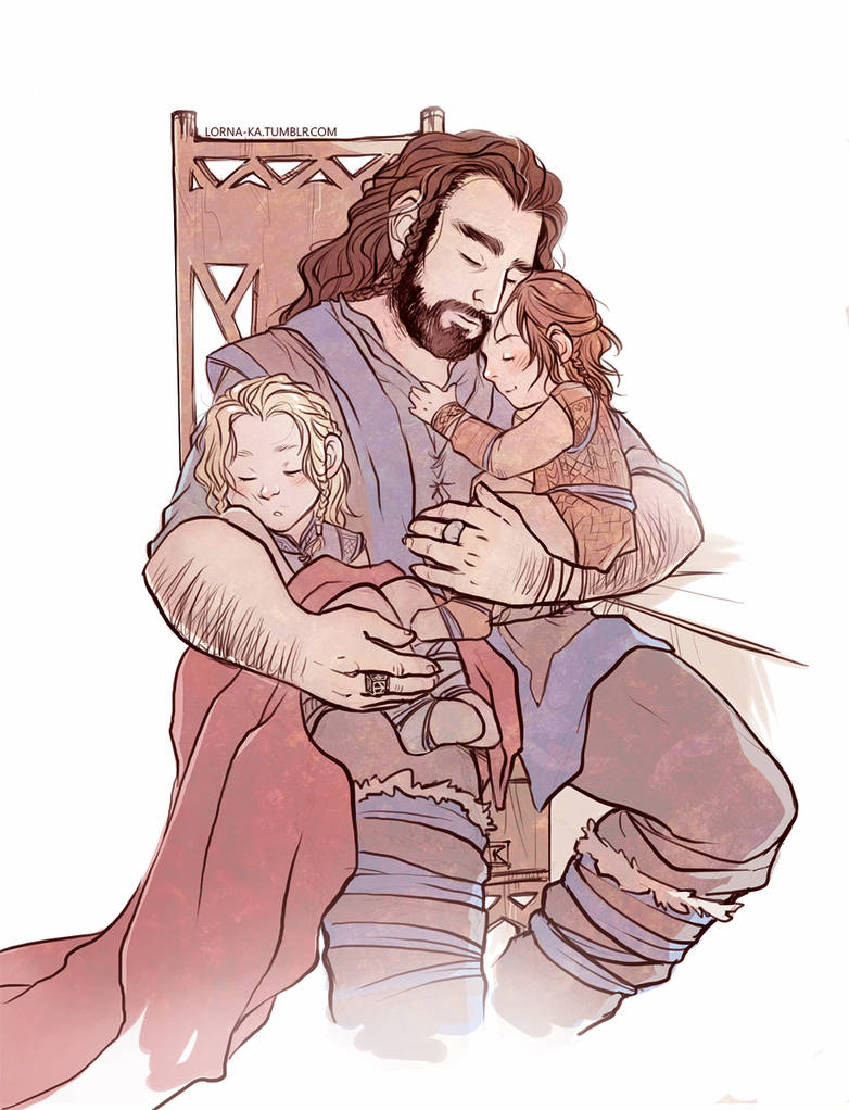 The Heirs of Durin by lorna-ka