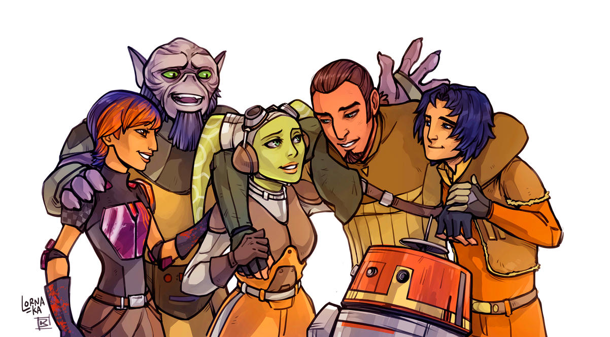 SWR Family reunion by lorna-ka