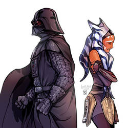I would never let anyone hurt you, Ahsoka.. never.
