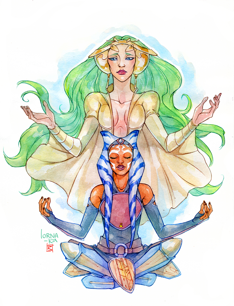Echoes in the Force - commission by lorna-ka