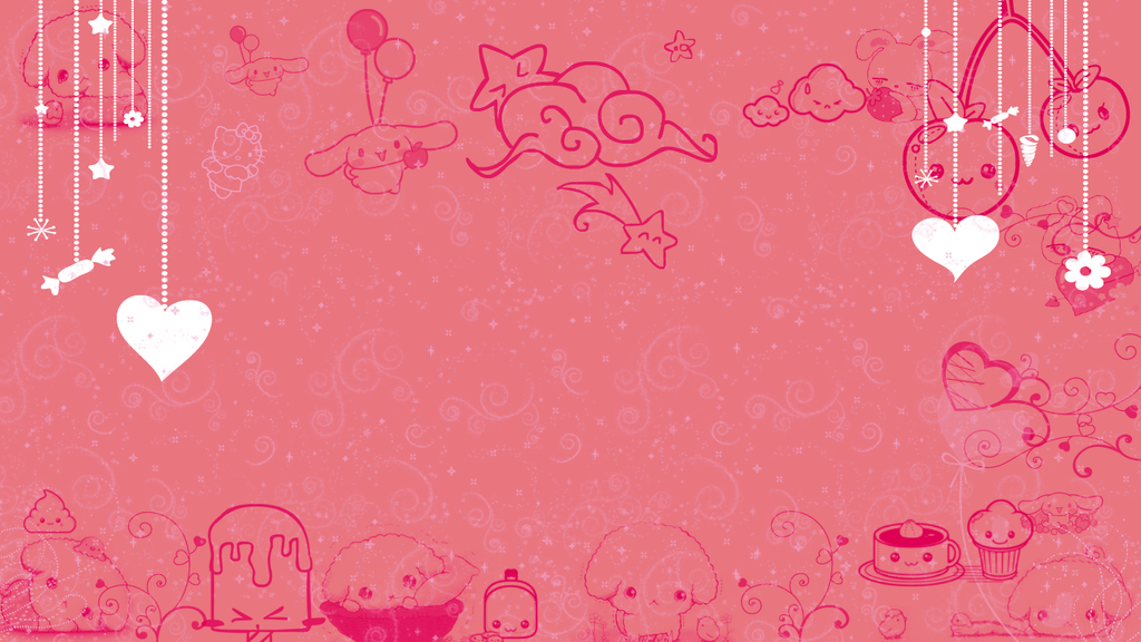wallpaper kawaii pink by cattyv3 on deviantart