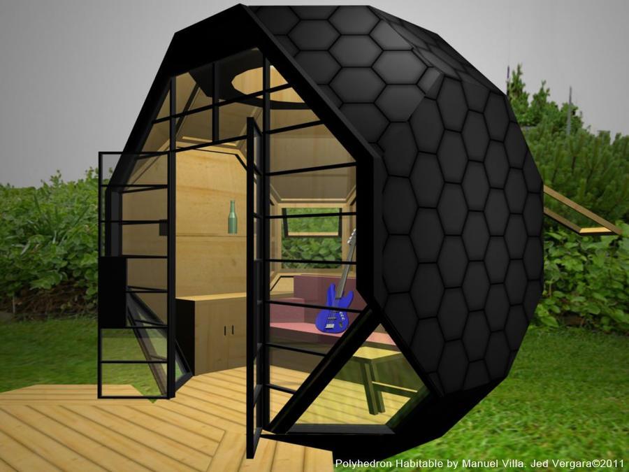 Polyhedron Habitable 1 By Illustrador ...