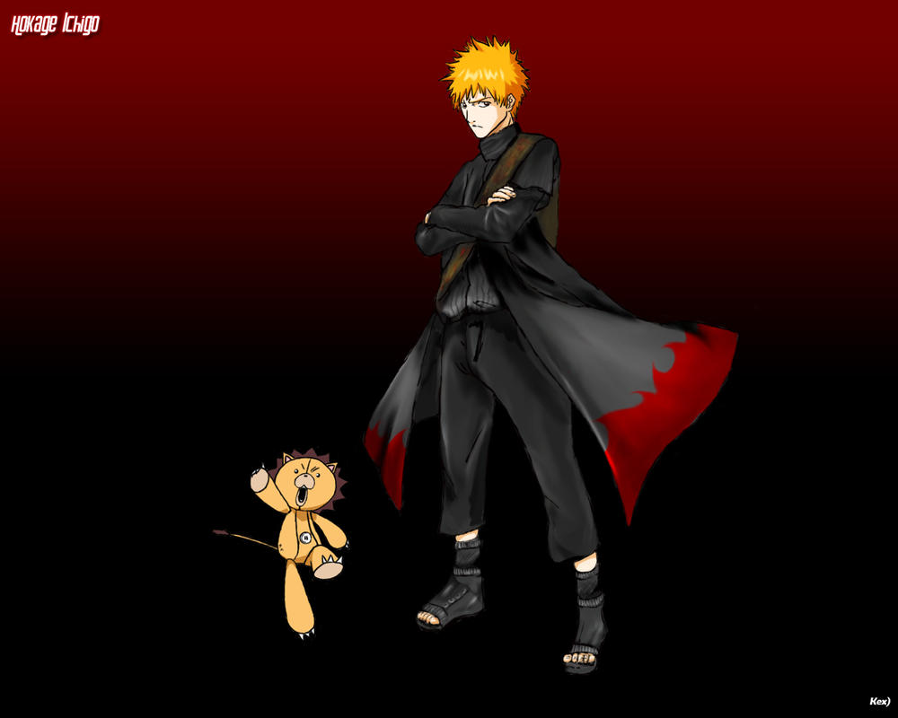 Hokage Ichigo by kex596 on DeviantArt
