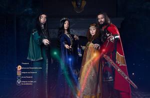 The Magic of Hogwarts Four