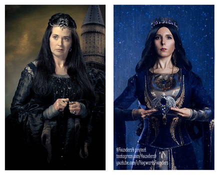 Side by Side. Ravenclaw.