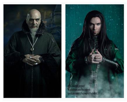 Side by Side. Slytherin.