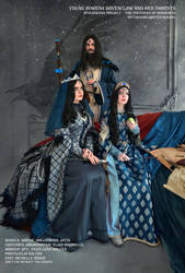 Rowena Ravenclaw's Family. Childhood and parents. by Aquamirral