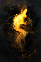 Fire Rabbit by DeVergilia