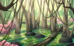 Sunny swamp