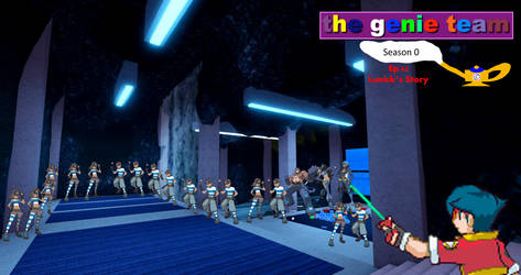 The Genie Team S0 Episode 42 by Manie1234