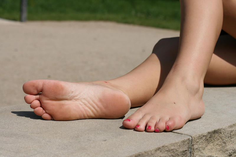 "beautiful feet photo 4*6 в""– 8011"
