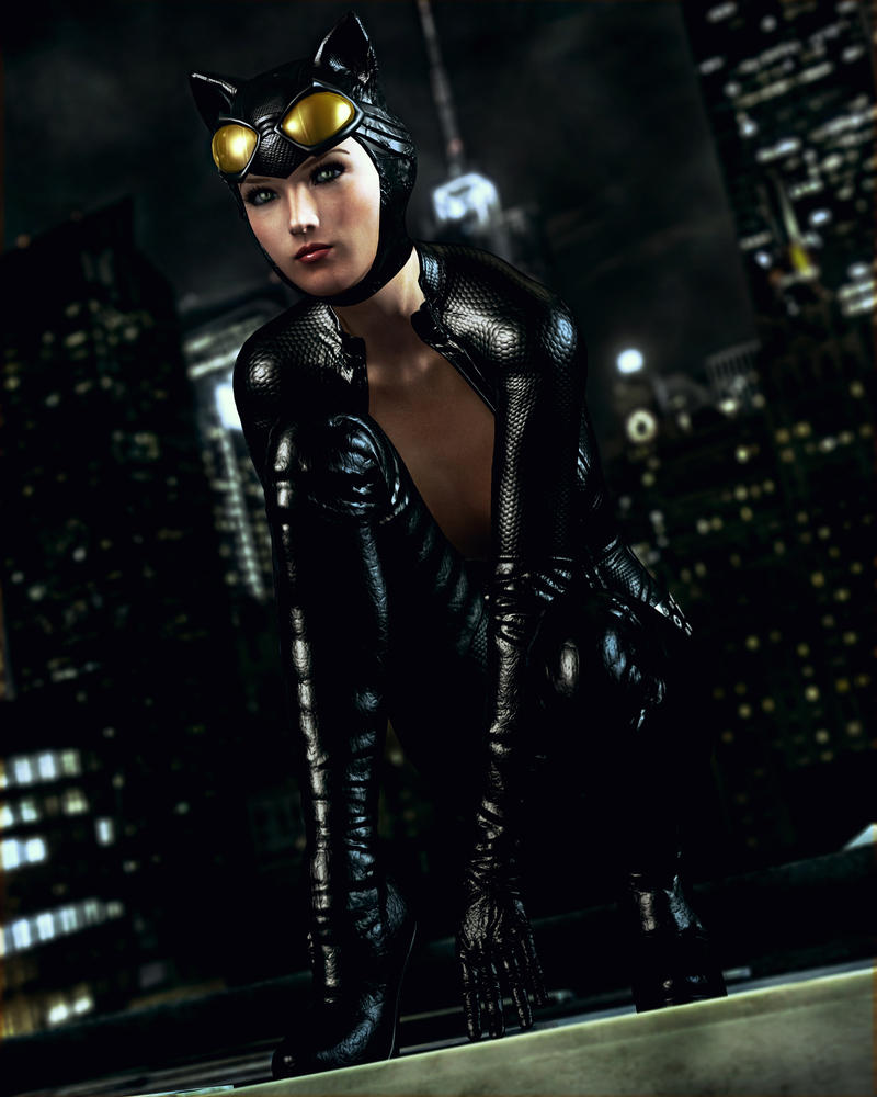 Catwoman by Le-Arc-7thHeaven