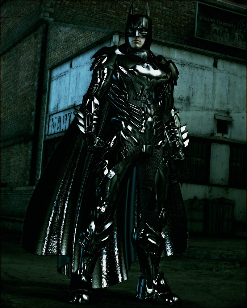 Batman by Le-Arc-7thHeaven
