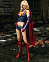 Supergirl (WIP) by Le-Arc-7thHeaven