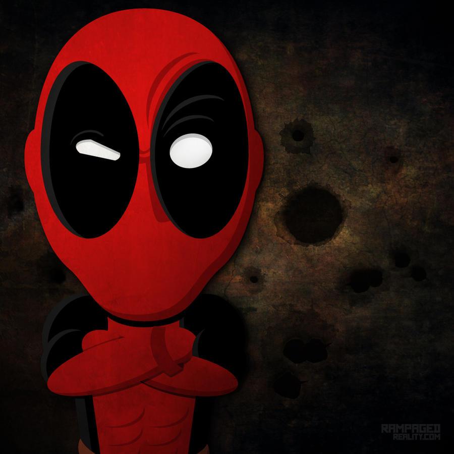 Deadpool Never Says Die by JustinRampage