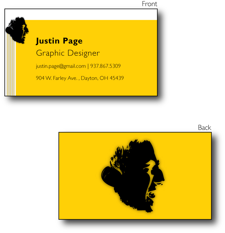 Graphic Design Business Cards by JustinRampage on DeviantArt