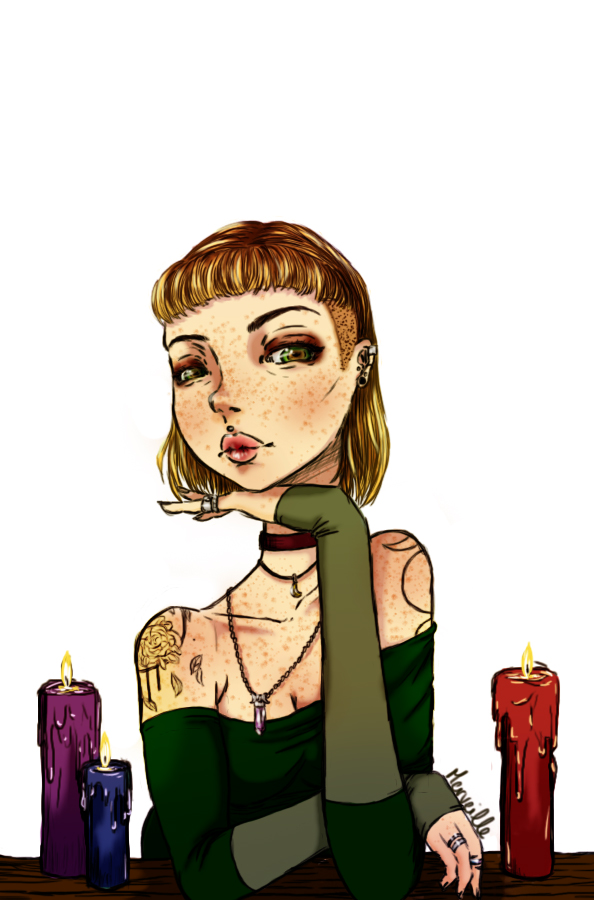Simple Witch by Merveillen