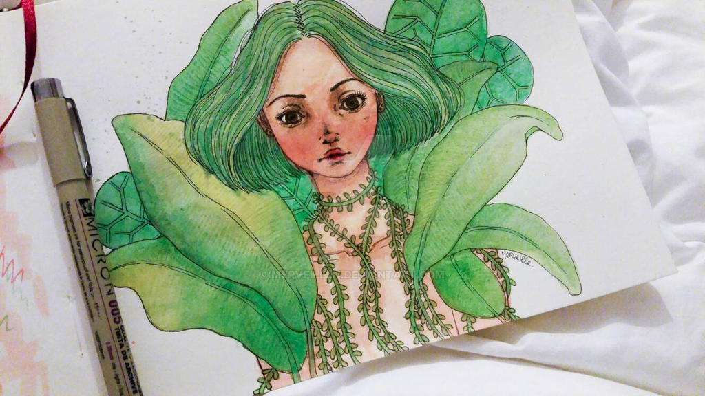 instant vert by Merveillen