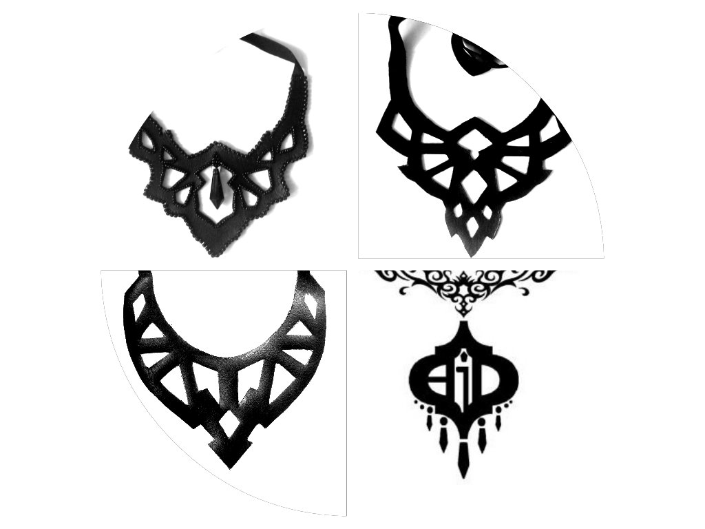 Ani jewelry designs leather cut by AniDandelion