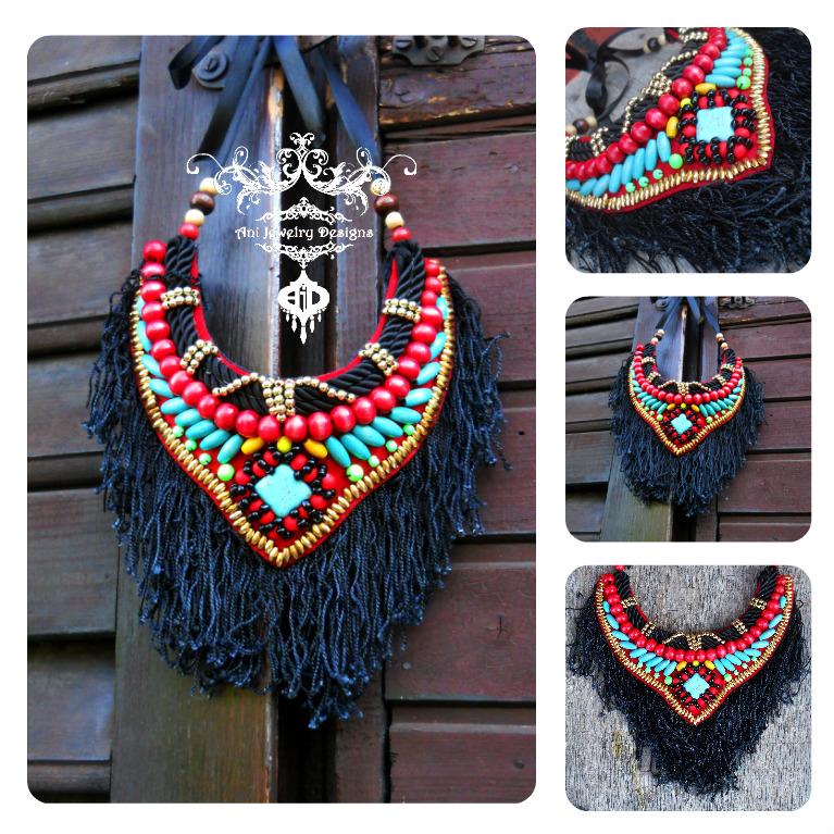 africa inspired tribal boho by AniDandelion
