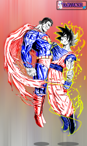 Goku Vs SuperMan... Who would win? by DJIvan23 on DeviantArt