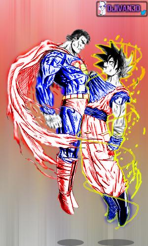 Goku Vs SuperMan... Who would win? by DJIvan23 on DeviantArt