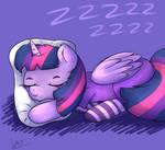 Sleepy Purple Princess