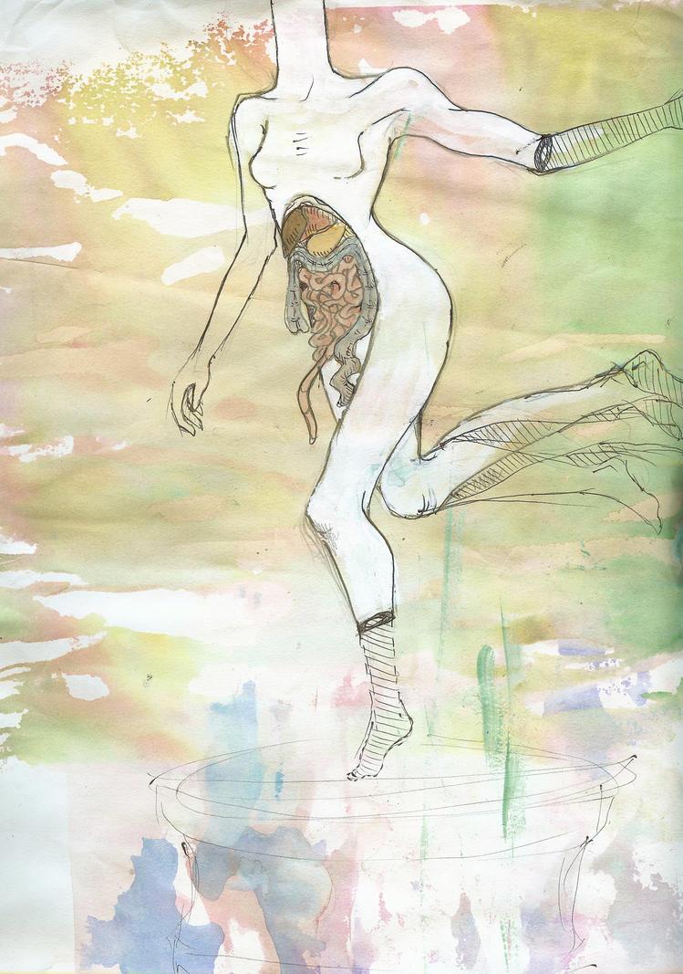 Ballerina WIP by sickballsboy
