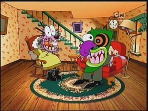 John R. Dilworth's Courage the Cowardly Dog Review